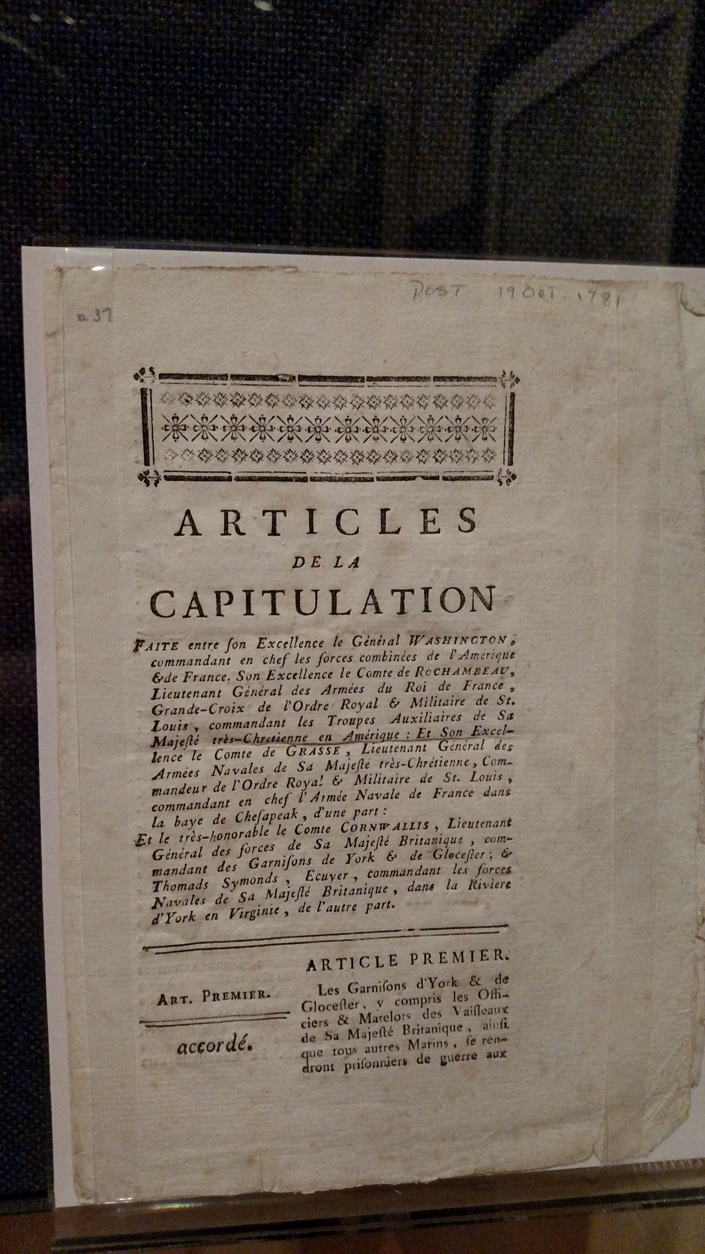 articles of capitulation Capitulation definition is - a set of terms or articles constituting an agreement  between governments how to use capitulation in a sentence.